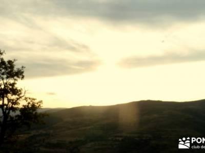Vespertina - Senderismo Sierra del Rincón;ciudad encantada tamajon tamajon ciudad encantada fotos d